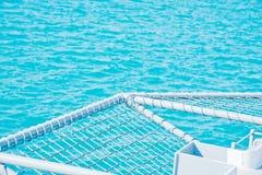 Superficie blu del mare Fotografia Stock Libera da Diritti