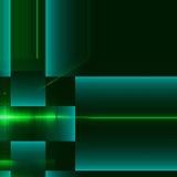Superficie blu e verde dell'alluminio Fondo geometrico metallico di struttura Concetto di industria Fotografia Stock Libera da Diritti