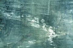 Superficie ciánica resistida de la pared del cament Imagen de archivo