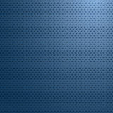 Superficie con el papel pintado abstracto ligero azul, vector de la fibra de carbono Foto de archivo