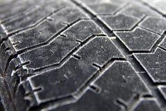 Superficie congelata del pneumatico Immagini Stock Libere da Diritti