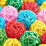 Superficie coperta di palle della paglia Immagine Stock Libera da Diritti