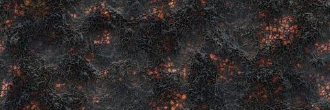 Superficie d'ardore bruciata del carbone dei carboni Modello astratto della natura illustrazione di stock