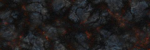 Superficie d'ardore bruciata del carbone dei carboni Natura astratta p illustrazione vettoriale