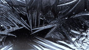 Superficie de congelación del rocío del fondo abstracto metrajes