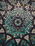Superficie de cristal hermosa de la tabla del mosaico handmade foto de archivo