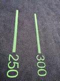 Superficie de goma del piso de la miga imagen de archivo