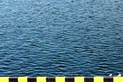 Superficie de la agua de mar Foto de archivo libre de regalías