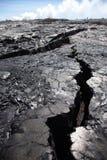 Superficie de la lava Imagenes de archivo