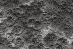 Superficie de la luna Fotografía de archivo libre de regalías