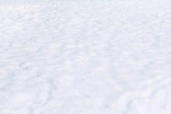 Superficie de la nieve Imágenes de archivo libres de regalías