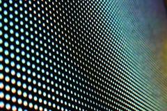 Superficie de la pantalla del LED Imagen de archivo