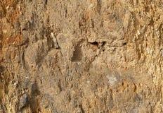 Superficie de la pared de la roca Fotografía de archivo libre de regalías