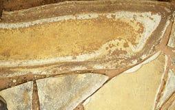 Superficie de la piedra arenisca Fotos de archivo