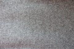 Superficie de la tela de lana gris gruesa de la capa desde arriba Fotografía de archivo