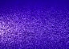 Superficie de la textura azul de la piel sintética como fondo Fotos de archivo libres de regalías