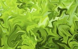 Superficie de mármol colorida Modelo de mármol verde de la mezcla de curvas foto de archivo libre de regalías