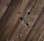 Superficie de madera de una tarjeta. Foto de archivo libre de regalías