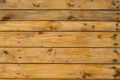 Superficie de madera marrón clara de los tablones, de la pared, de la tabla, del techo o del piso Imágenes de archivo libres de regalías