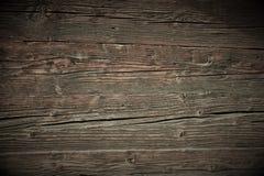 Superficie de madera marrón hermosa del vintage con el oscurecimiento en los bordes imagen de archivo