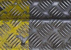 Superficie de metal Foto de archivo libre de regalías
