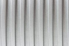 Superficie de metal acanalada Fotos de archivo