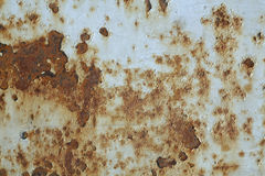 Superficie de metal oxidada Imagen de archivo libre de regalías