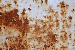 Superficie de metal oxidada Fotografía de archivo