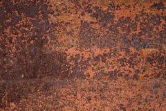 Superficie de metal oxidada abstracta Imágenes de archivo libres de regalías