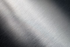 Superficie de metal rasguñada Fotografía de archivo