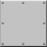 Superficie de metal. Vector. Imágenes de archivo libres de regalías