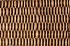 Superficie de mimbre de la textura de la armadura del fondo de la naturaleza del modelo para la textura material de los muebles Imagen de archivo