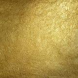 Superficie de oro Fotografía de archivo libre de regalías
