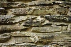Superficie de piedra empilada Imagen de archivo libre de regalías