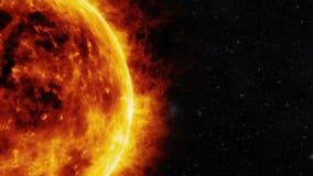 Superficie de Sun stock de ilustración