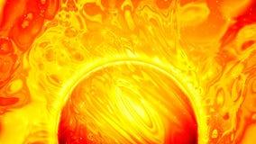 Superficie de Sun con las llamaradas solares y el plasma líquida Fondo fantástico del espacio del extracto Gr?fico colocado del m libre illustration