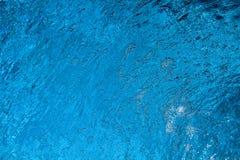 Superficie del agua azul de la aguamarina imagen de archivo libre de regalías
