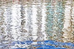 Superficie del agua para los fondos Imagen de archivo libre de regalías