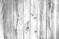 Superficie del bianco sporco, alta esposizione chiave, fondo di legno del pannello Fotografia Stock Libera da Diritti