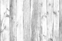 Superficie del bianco sporco, alta esposizione chiave, fondo di legno del pannello Immagine Stock