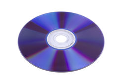 Superficie del CD-ROM Fotografia Stock
