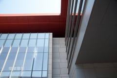 Superficie del corte de la estructura de edificio Foto de archivo