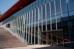 Superficie del corte de la estructura de edificio Imagen de archivo
