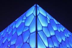 Superficie del cubo olímpico del agua de Pekín, China imagen de archivo libre de regalías