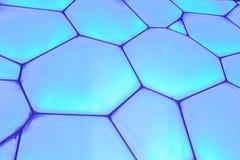 Superficie del cubo olimpico dell'acqua di Pechino, Cina Immagini Stock