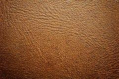Superficie del cuoio di colore del Brown Immagini Stock