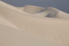 Superficie del deserto della sabbia fotografia stock
