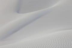 Superficie del deserto della sabbia Fotografie Stock Libere da Diritti
