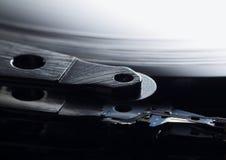Superficie del disco duro rasguñada después de primer del desplome principal Fotografía de archivo libre de regalías