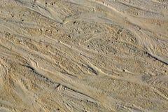 Superficie del extracto de la arena foto de archivo